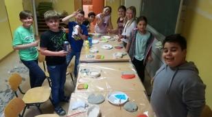 Kreatives Gestalten mit den 3. Klassen
